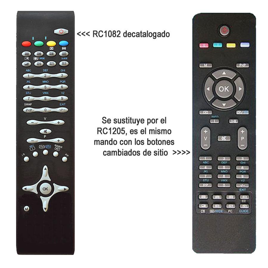 Mando TV Samsung BN59-00862A sustituto del original