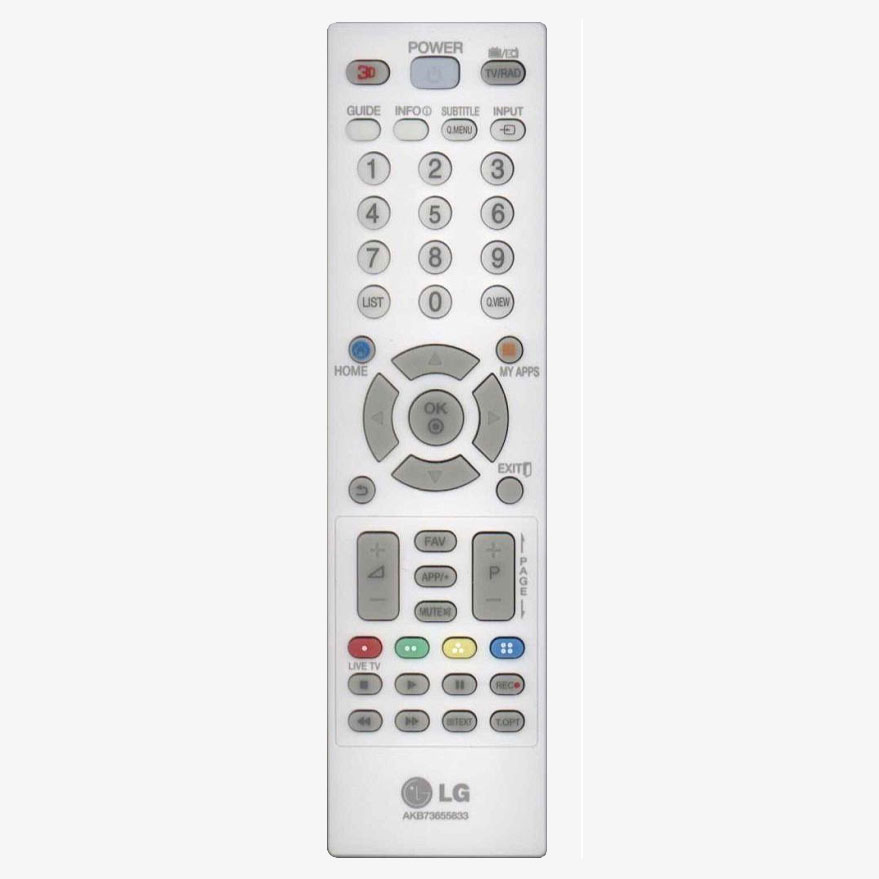 Mando a distancia original lg akb73655833 color blanco - Mando a distancia ...
