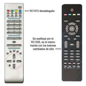 Mando a distancia original RC1072 OKI, Hitachi, Bluesky, etc.