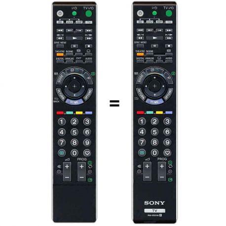 Mando a distancia sustituto del Sony Bravia RM-ED012 y RM-ED019