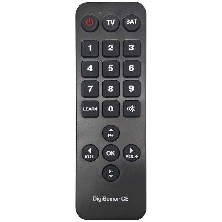 Mando a distancia de televisión para personas mayores DigiSenior.