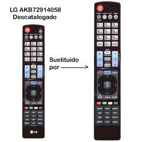 Mando a distancia sustituto del LG AKB72914058