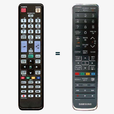 Mando a distancia sustituto del Samsung BN59-01054A y BN59-01052A